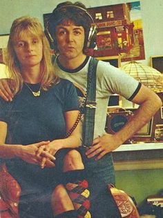 Paul McCartney and Linda Eastman-McCartney (Tumblr)