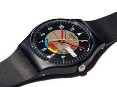 "Swatch GJ700 ""Yamaha Racer""  prototype. 1985"