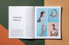"A New Type of Imprint Volume Two""Conversations on Creativity and a Study of Time"" Chapter Two and the front page, which has a new theme and graphic designer for every issue, is designed by Henrik Wold Kraglund and Oscar Grønner."