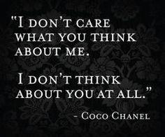 Mademoiselle Chanel.