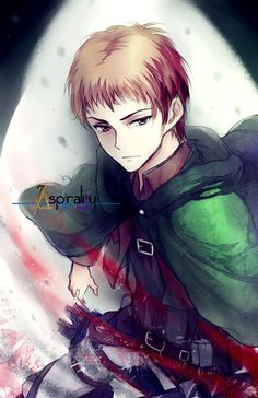 Is Jean Kirstein your favorite Attack on Titan character? Fanart by aurAspirality