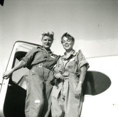 A Sweetwater museum commemorates the female pilots of World War II, including Nell Bright, far right with Virginia Woodruff. Bright often skipped meals to pay for flying lessons. Click through to read more about the museum and the brave pilots it commemorates.