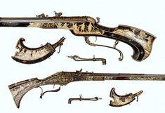 Duke Maximilian I's Bavarian wheellock