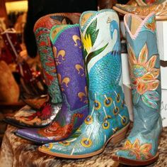 Cock of Walk Power of Love Custom Boots Cowboy Boots Women, Cowboy And Cowgirl, Cowgirl Style, Cowgirl Boots, Western Boots, Bootie Boots, Shoe Boots, Shoes, Westerns