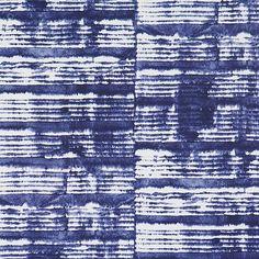 Azure tye dye abstract contemporary home wallpaper R2398
