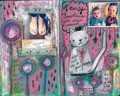 Dylan & Elliot Art Journal - p2 | Flickr - Photo Sharing!