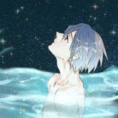 Level of loving water: Haruka Nanase Rin Matsuoka, Haruka Nanase, Makoharu, Hot Anime Boy, All Anime, Anime Guys, Rei Ryugazaki, Swimming Anime, Free Eternal Summer