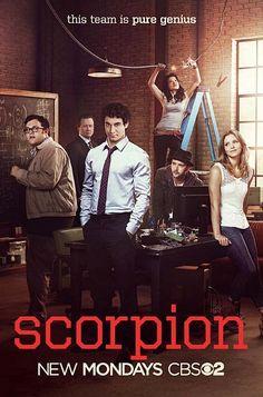SCORPION Season 1 Poster | SEAT42F