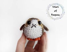 Check out our amigurumi selection for the very best in unique or custom, handmade pieces from our stuffed animals & plushies shops. Last Star Wars, The Last Star, Chibi, Regalos Star Wars, Darth Vader, Star Wars Gifts, Last Jedi, Geek Gifts, Disney Love