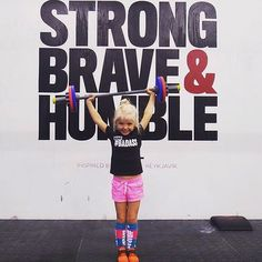 Strong. Brave. Humble.