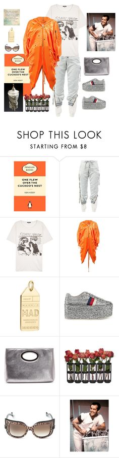 """One flew over the cucoo's nest"" by juliabachmann ❤ liked on Polyvore featuring The Cuckoo's Nest, Greg Lauren, R13, Jet Set Candy, Gucci, Donald J Pliner, Anna-Karin Karlsson and The Cuckoos Nest"