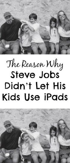 If you worry about your children spending hours in front of a screen, then you should know why Steve Jobs didn't let his kids use iPads. #ipad #dangers #parenting #electronics via @creativehealthyfamily