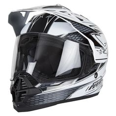 Spada Sting Maverick Dual Sport Motorcycle Helmet  Description: The Spada Sting Maverick Dual-Sport Helmets are packed       with features..              Specifications include                      New for 2011                    Multi positional visor                    Latest ECER 22-05 standard                    Polycarbonate shell...  http://bikesdirect.org.uk/spada-sting-maverick-dual-sport-motorcycle-helmet-4/