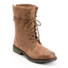 Step out into a vintage look just in time for the Fall in the Roxy Concord Brown leather boots for girls. These boots are designed with a leather and canvas upper with that sits on top of a TPR injected outsole. The Concord boots feature a fully lined canvas footbed along with studded detailing at the upper, metal eyelets and hooks, cotton laces and a back zipper with a Roxy zipper pull for easy use. Pairing perfectly with your favorite pair of skinny jeans or jeggings, the Concord Brown…