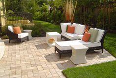 Like the brick patio