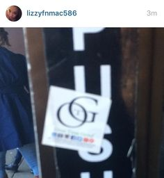 Salute @lizzyfnmac586 spotting the #OTG sticker on #69th street!  @overtimegrind