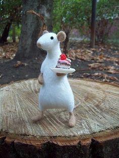 mouse by HandmadeByNovember on Etsy, $40.00