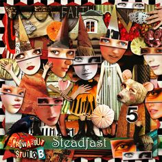 New & On Sale from Crowabout StudioB! Steadfast-Digital Scrap Kit - Includes Printable JPG Collage Sheets!