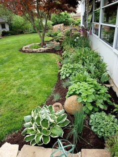 I love the look of this garden - reminds me of my mother-in-laws garden