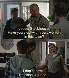 Jesus, Stackhouse. I miss you. :(