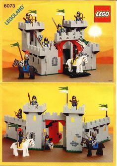 Lego Vintage, Chateau Lego, Instructions Lego, Minions, Best Lego Sets, Big Lego, Lego Knights, Classic Lego, Lego Videos