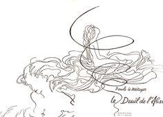 Le Deuil De L'absence- Illustrations L.G Keller de Paule Le Métayer