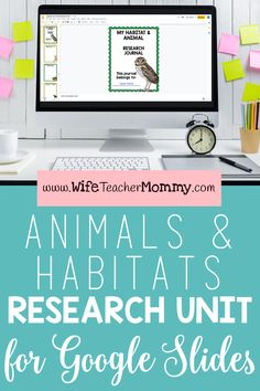 This digital Google Slides animals Parent Letters, Letter To Parents, Elementary Teacher, Upper Elementary, Text Features Worksheet, Traditional Books, Informational Texts, Research Skills, Animal Habitats