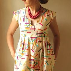 Washi Dress Sewing Pattern PDF | Made by Rae