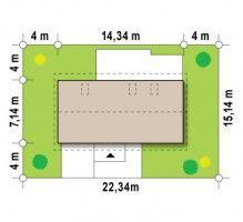 Z232 to projekt dla wszystkich tych, którzy szukają niewielkiego domu, ekonomicznego, taniego w budowie i utrzymaniu.