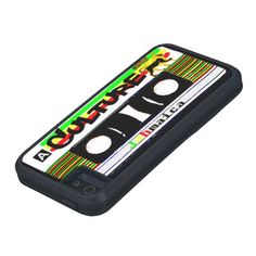 ChakaRastar@Zazzle - Culture King Reggae Cassette  iPhone Phone Case iPhone 5 Cover from http://www.zazzle.com/culture_king_reggae_cassette_iphone_phone_case-179515273827946060