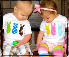 OH MY PEEPS Baby Dots Onesie or T-Shirt. $20.00, via Etsy.