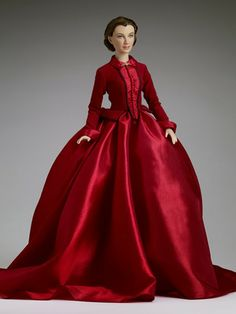 Scarlett doll - The dress she wears when she convinces Ashley to help her with the lumber mill