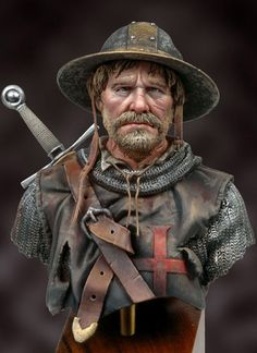 After the Battle. c1250 S9-B26 165 mm 1/10 | The Bust Collection | Andrea Miniatures | Andrea Europe