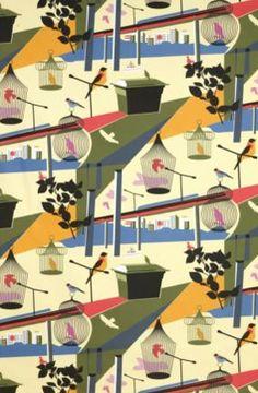 Vintage fabric as art - MyDaily UK