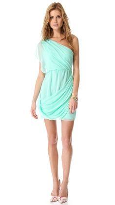 Wesson One Shoulder Dress