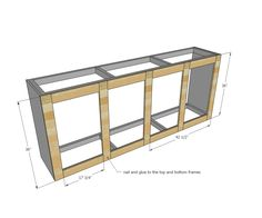 Use one of these free DIY TV stand plans for your own entertainment center for your flatscreen TV. All plans include complete building instructions. Barn Door Cabinet, Barn Door Tv Stand, Barn Door Console, Diy Barn Door, Cabinet Plans, Diy Furniture Building, Diy Furniture Plans, Furniture Projects, Ana White
