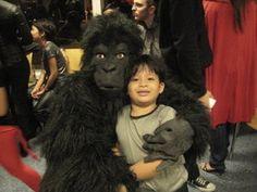 me in the gorilla costume