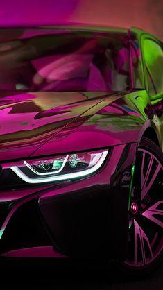 Download wallpapers BMW i8, 4k, 2018 cars, closeup