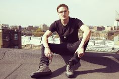 Oliver Sweeney collaborates with Oliver Proudlock on a range of luxury trainers