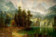 Albert Bierstadt - Sierra Nevada