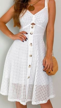 Interesting 100 Hot Outfits To Try This Year Hot Outfits, Dress Outfits, Casual Dresses, Short Dresses, Fashion Dresses, Summer Dresses, Trendy Outfits, Skater Outfits, Disney Outfits