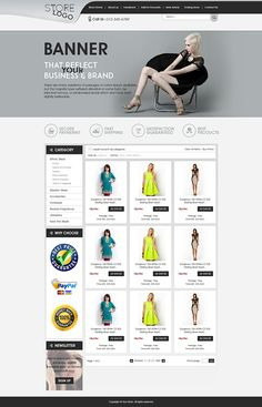 attractive ebay store templates listing auction html