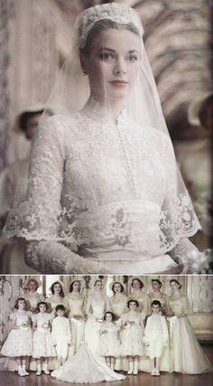 Princess Grace's wedding