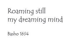 Basho ~ haiku