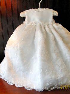 Hallie Girl's Christening Gown or flower girl dress - Christening Wardrobe