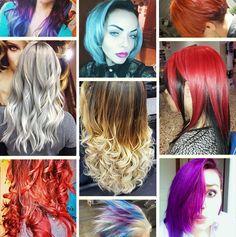 #Colore #capellicolorati #defile