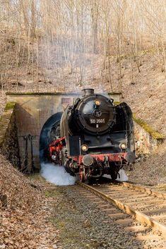Train Tunnel, Scenic Train Rides, Old Steam Train, Old Trains, Steam Engine, Steam Locomotive, Train Tracks, Scenery, Around The Worlds
