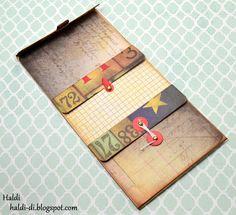 """*Свободное творчество*: МК """"Кармашки для блокнотов из конвертов"""" от Haldi"""