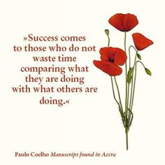 Success comes to those who