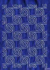 Sashiko Quilt Embroidery Design